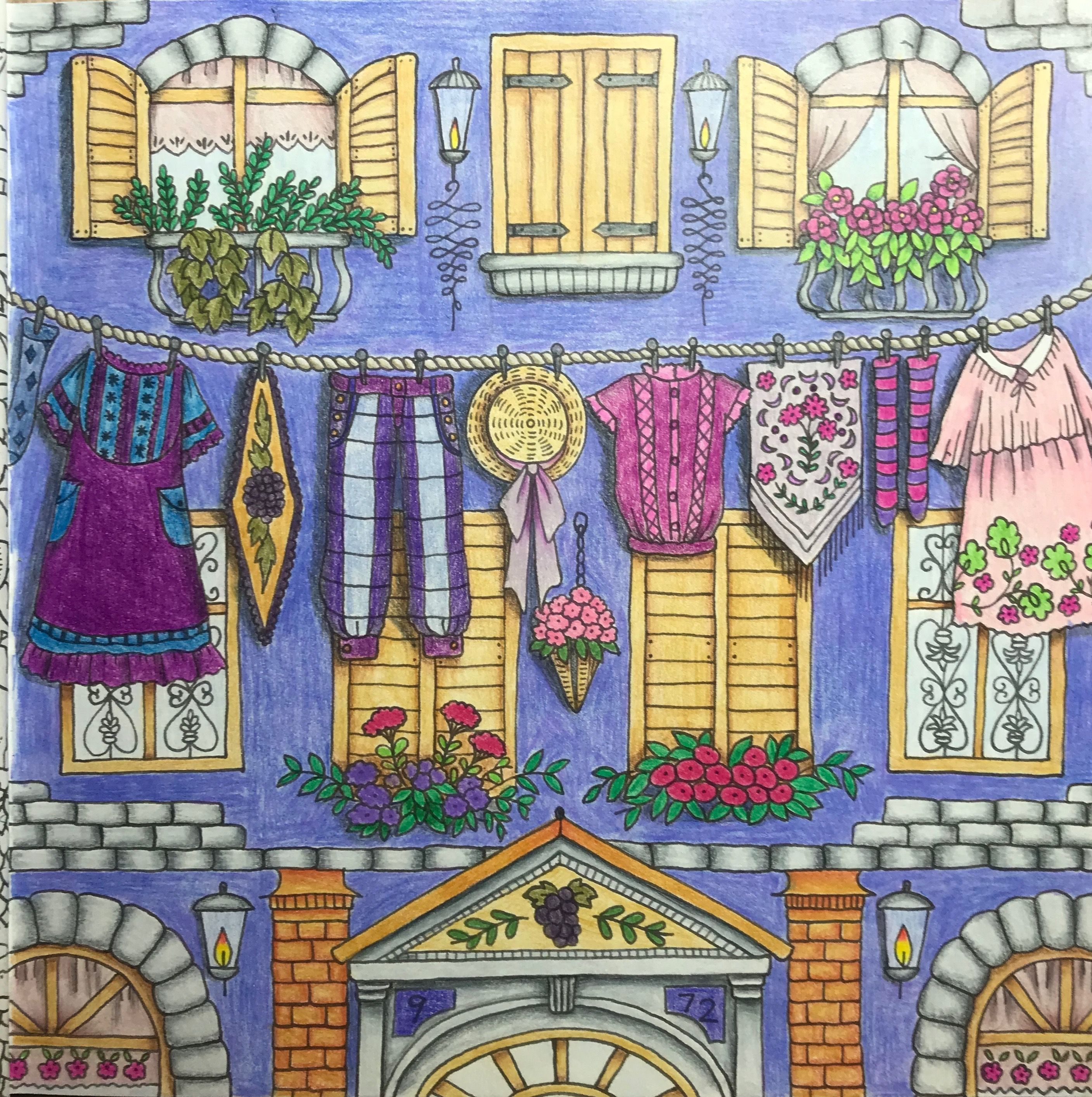 Romantic Country The Third Tale A Fantasy Coloring Book Eriy Romantic Country Coloring Books Romantic