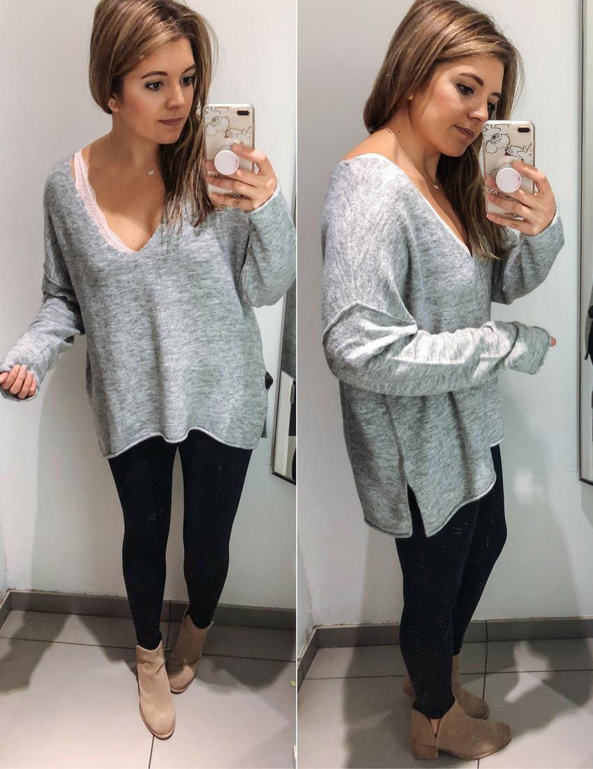 Best Long Sweaters For Leggings Outfits My Styleee Leggings