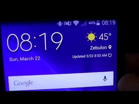 Galaxy S6 weather widget on any Android phone!!! YouTube