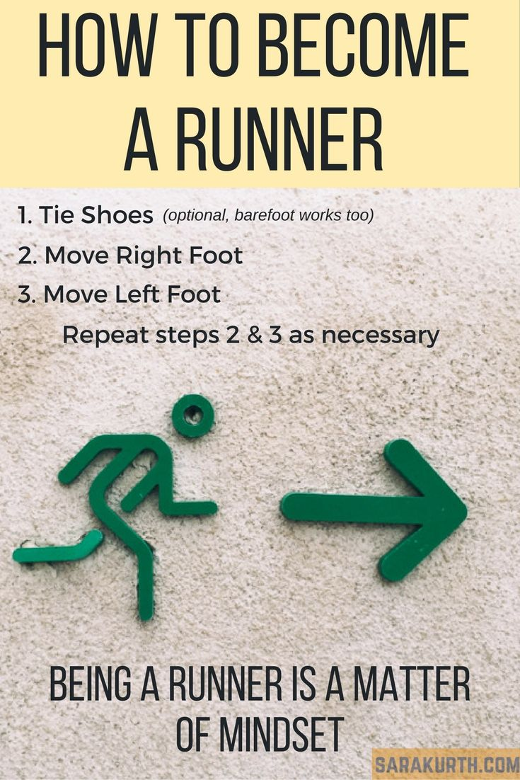 photo How to Become a Runner From a Former Nonrunner