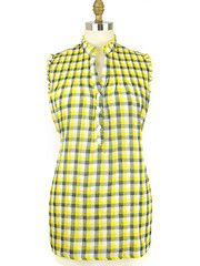 Plaid Chic-yellow