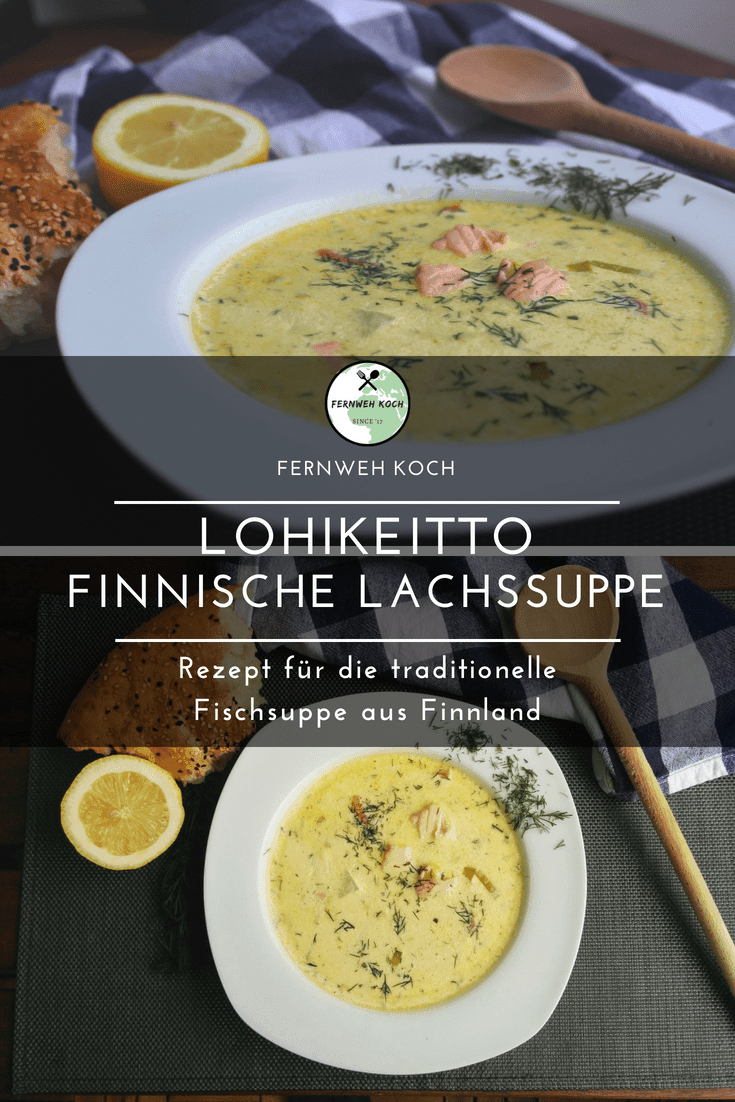 Photo of Lohikeitto – recipe for the Finnish salmon soup