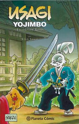 Usagi Yojimbo. Escorpión rojo de Stan Sakai, edita Planeta Comic
