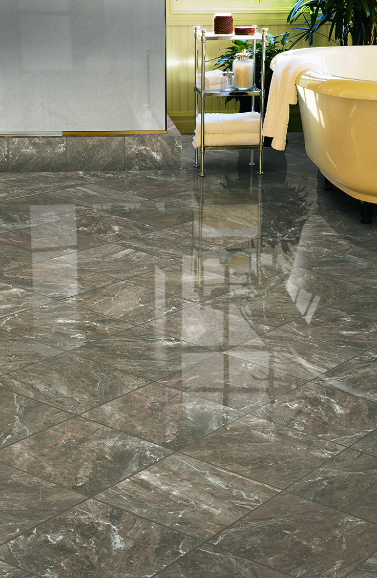 Mohawk Floorings Apremont Tile In Grigio Tile Flooring Ideas