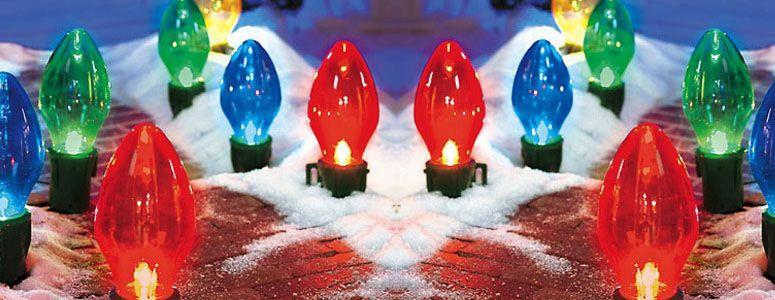 Giant Bulb Outdoor Christmas Lights Outdoor christmas, Christmas