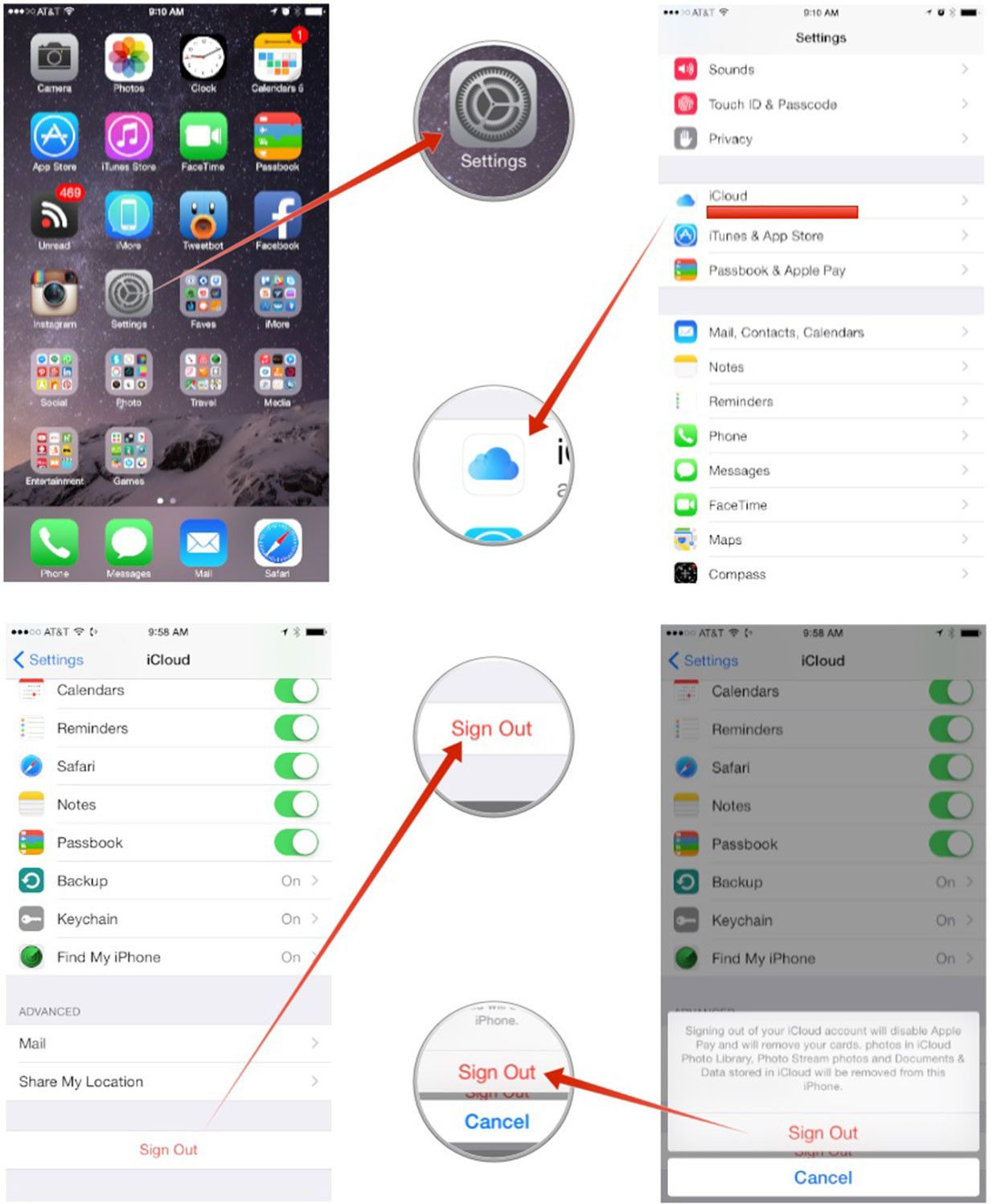 How to delete individual iMessages or Texts in iOS 8 and 9
