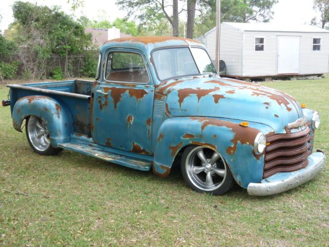 1953 Chevy Rare 5 Window Hot Rod Truck Patina Rat Rod Chevrolet Other Pickups Hot Rod Trucks Rat Rod Classic Chevy Trucks