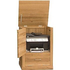 Cavalli Solid Oak Printer Cupboard