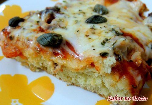 Torta de Sardinha com Alcaparras - Sabor no Prato