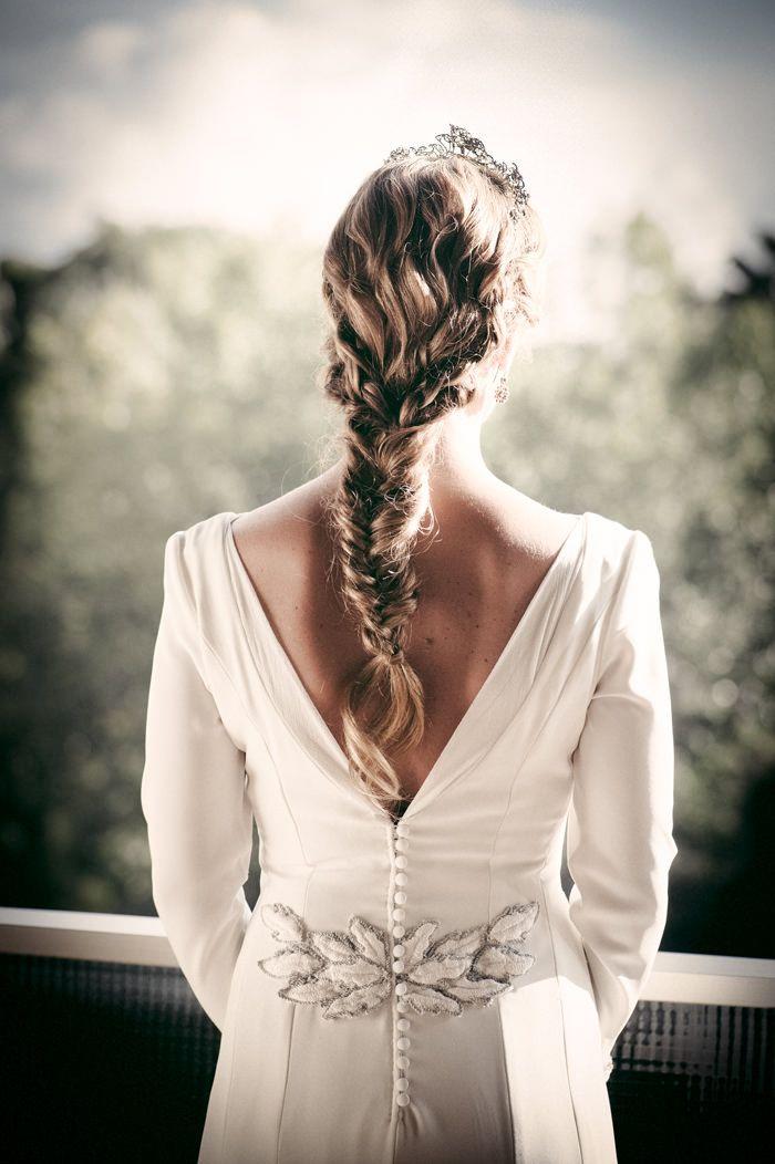 Lo más universal peinados para madrina de boda Imagen de cortes de pelo tutoriales - La boda de Marta en Sevilla | Trajes de madrina, Madrinas ...