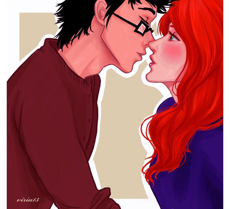 c'mon,Evans,just one kiss.. by viria13.deviantart.com on @deviantART