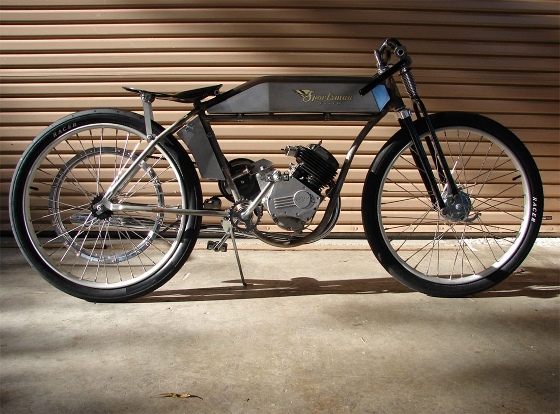 Sportsman Flyer Handcrafted Board Track Motorbikes 1