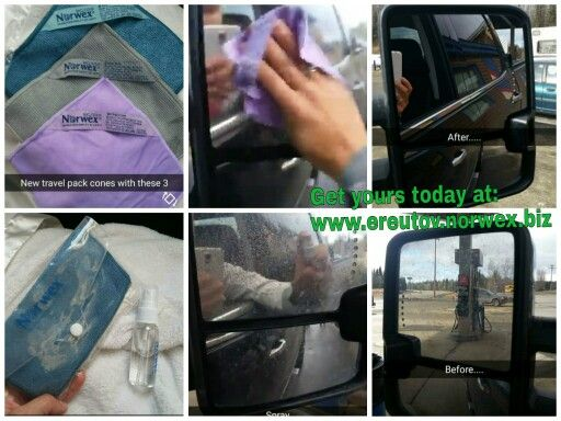 CLEAN your vehicle windows mirrors or lights with JUST WATER and