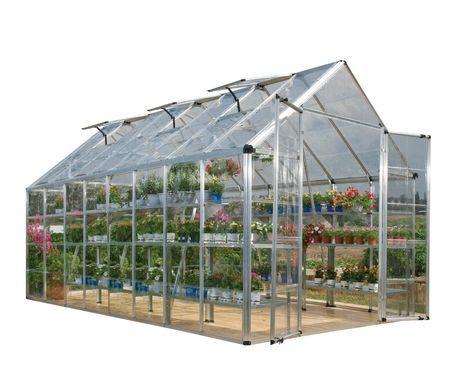 Palram Premier Snap N Grow Greenhouse Polycarbonate Greenhouse