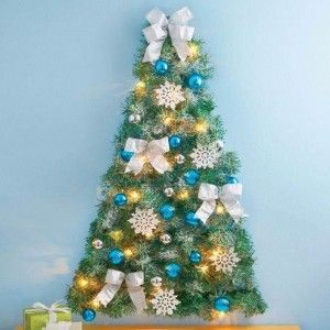 60 Wall Christmas Tree Alternative Christmas Tree Ideas Wall Christmas Tree Alternative Christmas Tree Silver Christmas