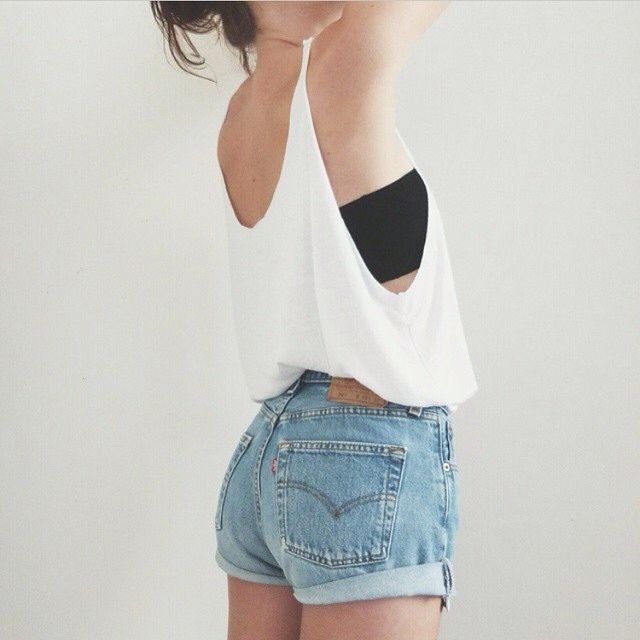 @mgxmrl ❤️❤️❤️ waaaaa diy cut out tank! So cute and looks legit #closettjunkie