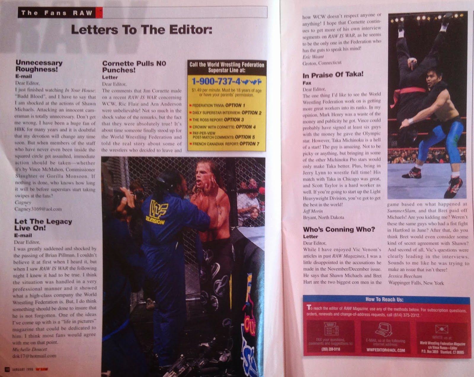 Pro Wrestling Reviews: From the loft: WWF Magazine