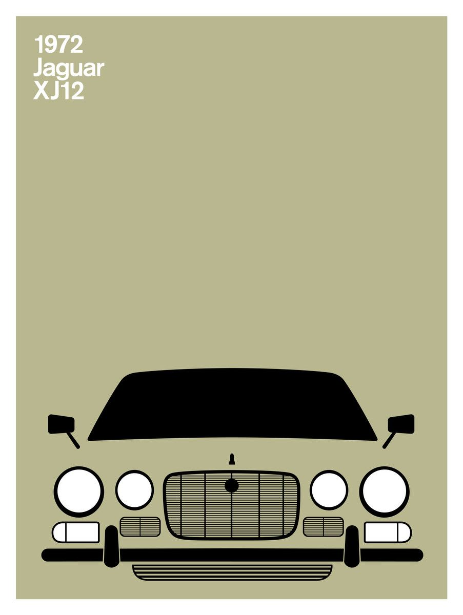 Print Collection - Jaguar XJ12, 1972