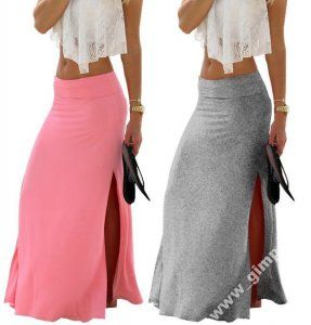 Dluga Spodnica Maxi Long Wysylka 24h 161 6236110718 Oficjalne Archiwum Allegro Clothes Fashion Maxi Skirt