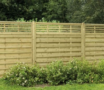 Forest Europa Kyoto 6 X 6 Ft Fence Panel Cheap Garden