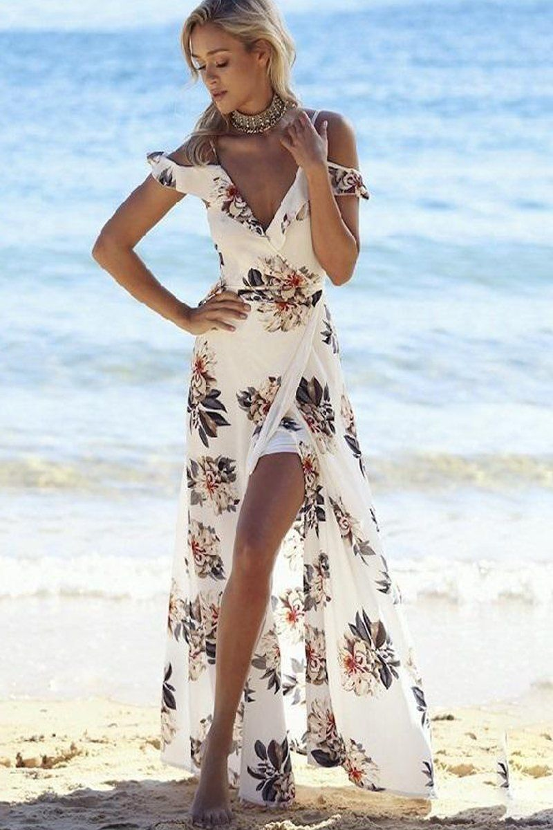 Casual floral maxi dress flirty floral dress infinite linx