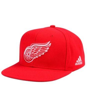 best sneakers d2015 ba878 adidas Detroit Red Wings Core Snapback Cap - Red Adjustable