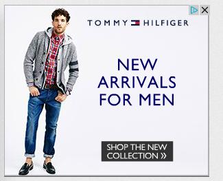 Tommy Hilfiger - New Arrivals for Men Display Ad   Banner ...  Tommy Hilfiger ...