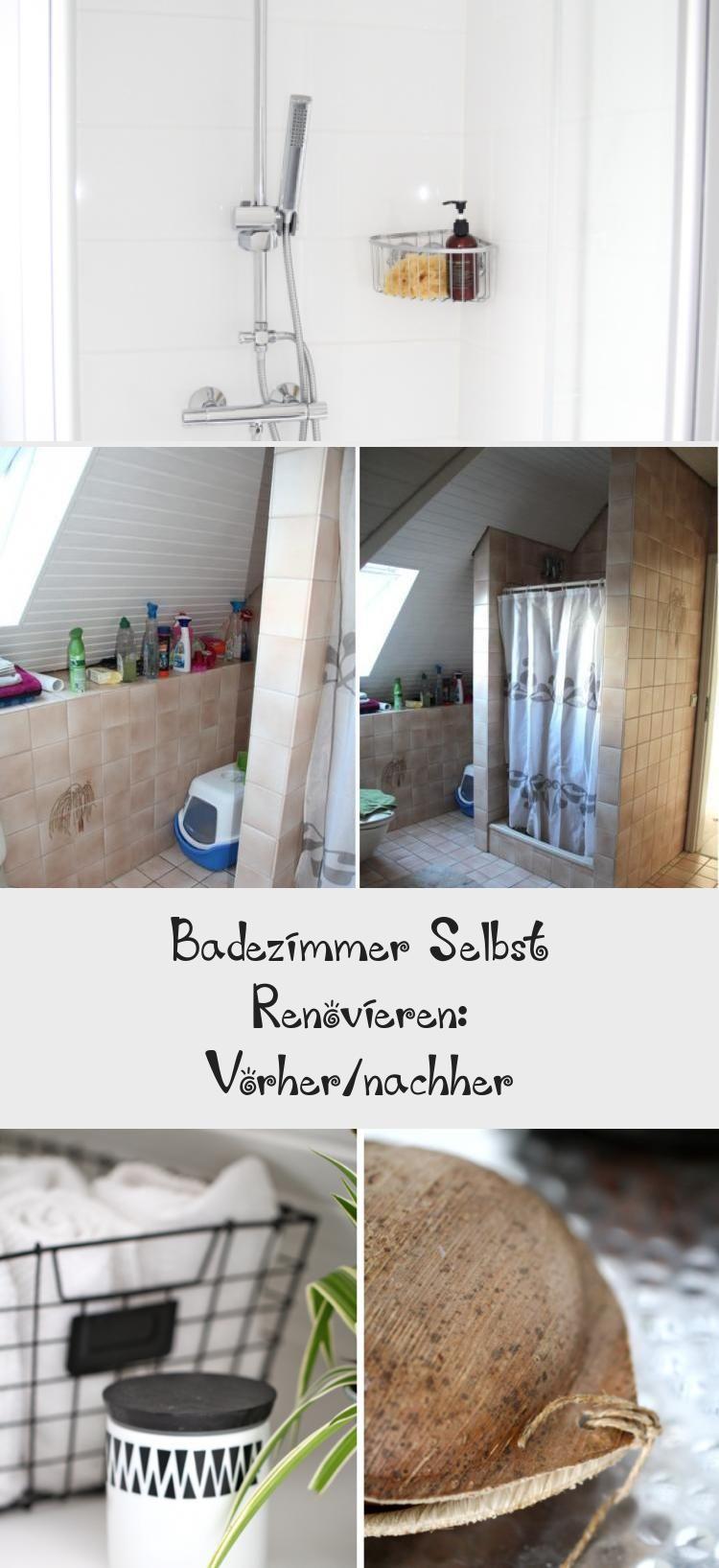 Badezimmer Selbst Renovieren Vorher Nachher With Images