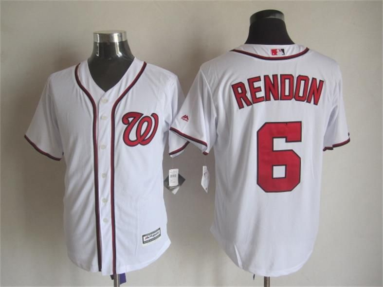 pretty nice ebbe9 4c470 Washington Nationals ##6 Anthony Rendon Home White 2015 MLB ...