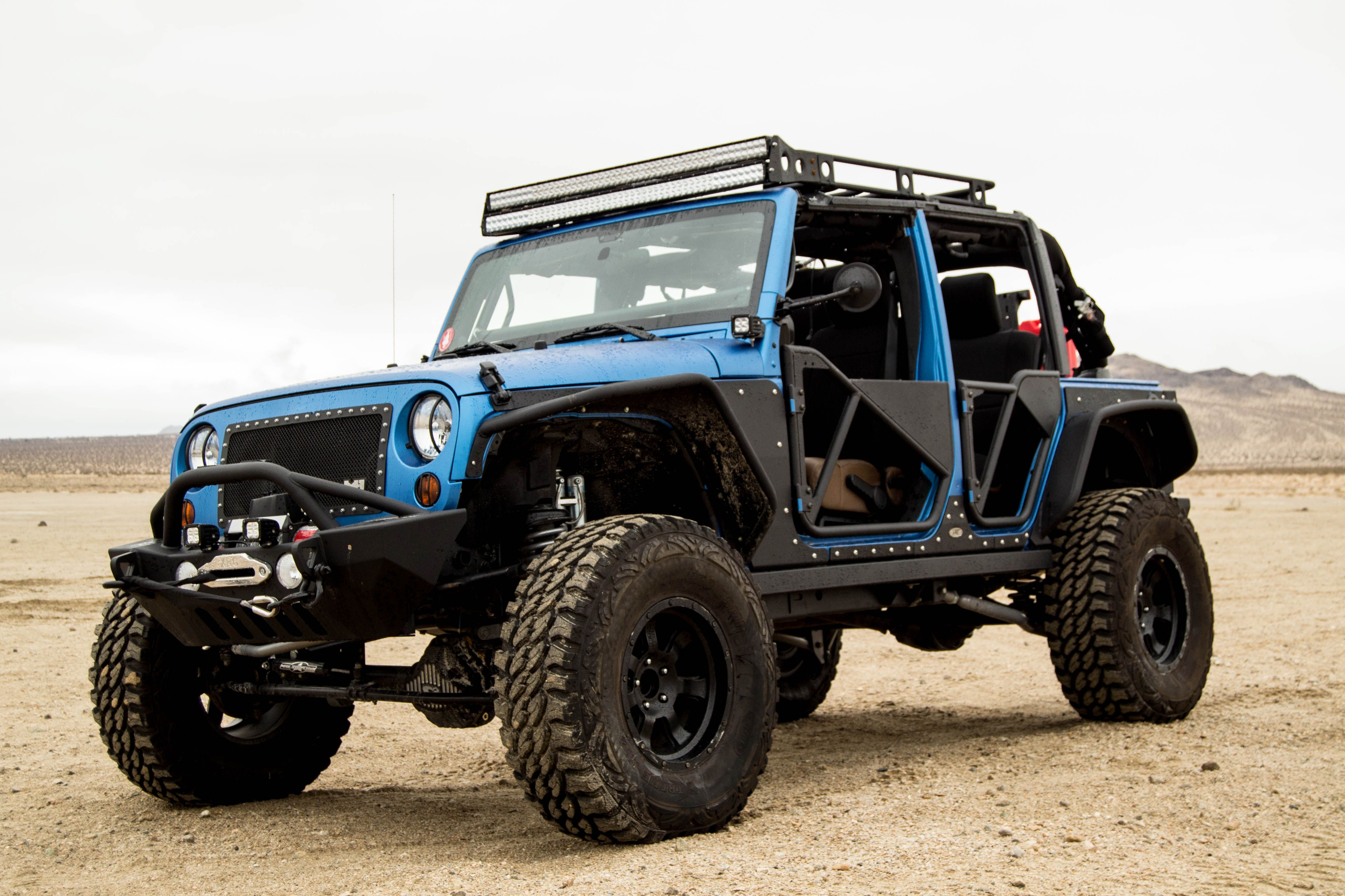 Jeep Wrangler Jk Offroad On Bilstein 5160 Reservoir Shocks With A 3 5 Lift Kit Pro Comp Wheels And Tires Smittybilt Jeep Wrangler Jeep Wrangler Shocks Jeep