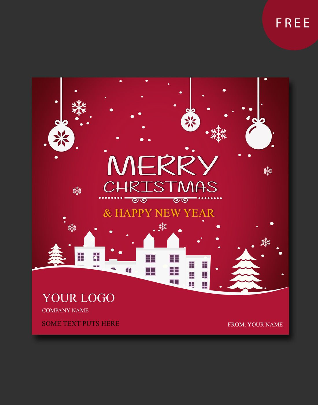Christmas Greeting Cards Templates