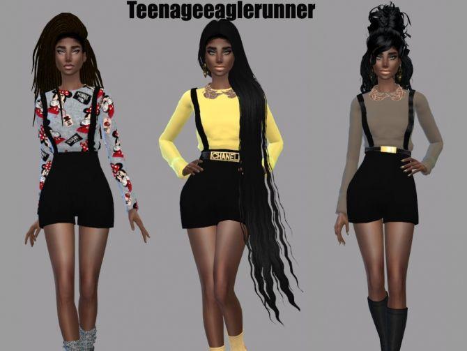 Épinglé par Miss.Harley sur Sims 4 cc ✨ | Sims, Sims 4 et