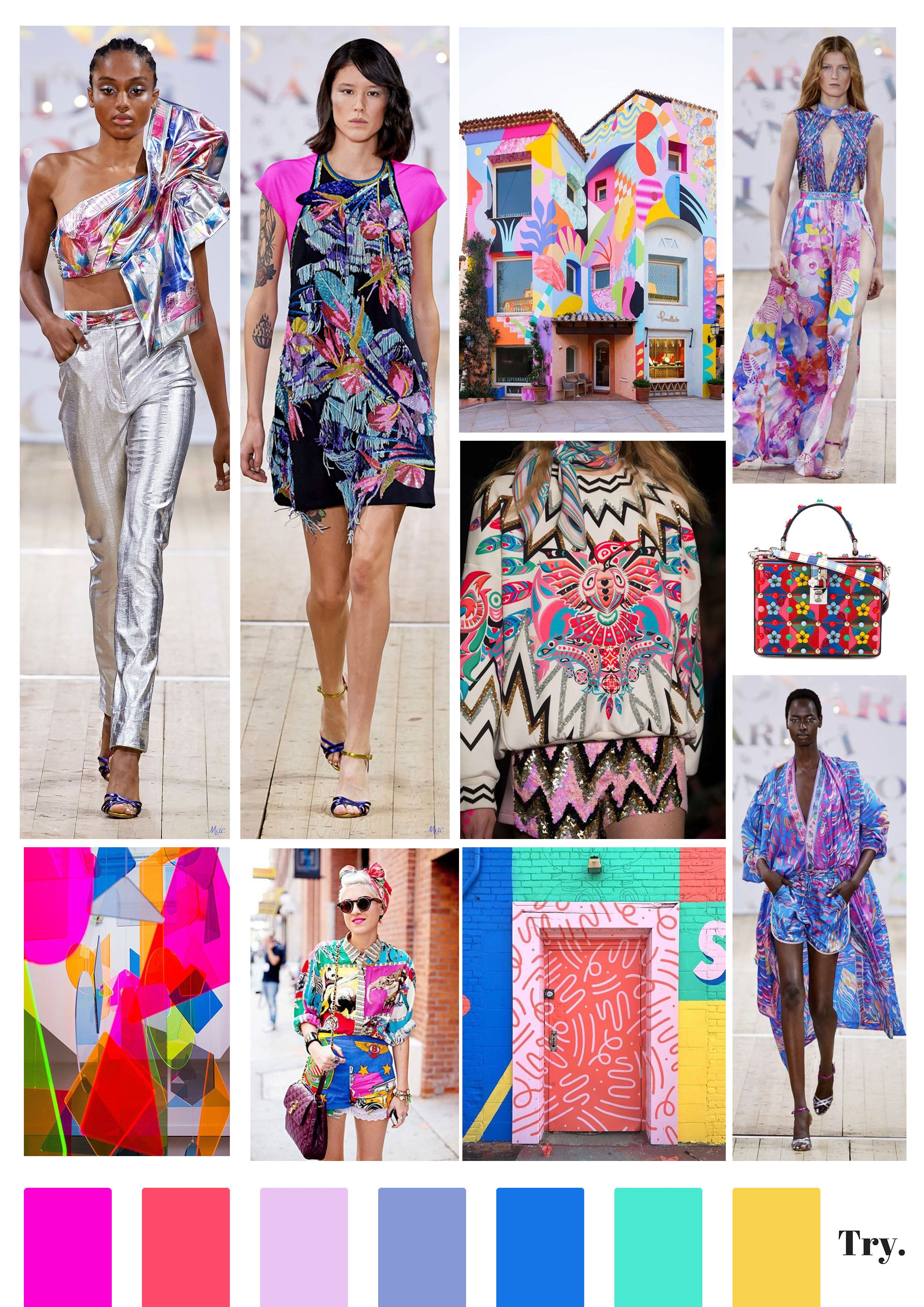 COLOR BLOCK in 6  Color trends fashion, Fashion trend pattern