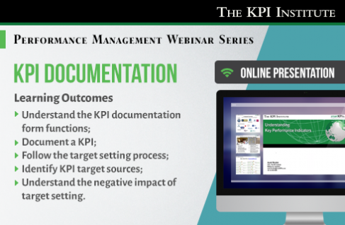 Kpi Documentation Key Performance Indicators Key Success Factors Data Visualization