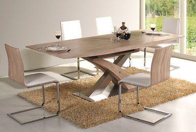 Tisch Modern details zu tisch esstisch esszimmertisch säulentisch 90x220