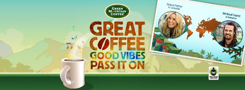 Green mountain coffee is also on facebook pumpkin spice