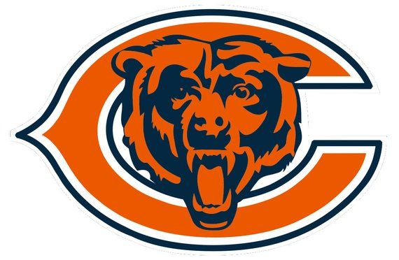 Chicago bears decal. Yeti products in