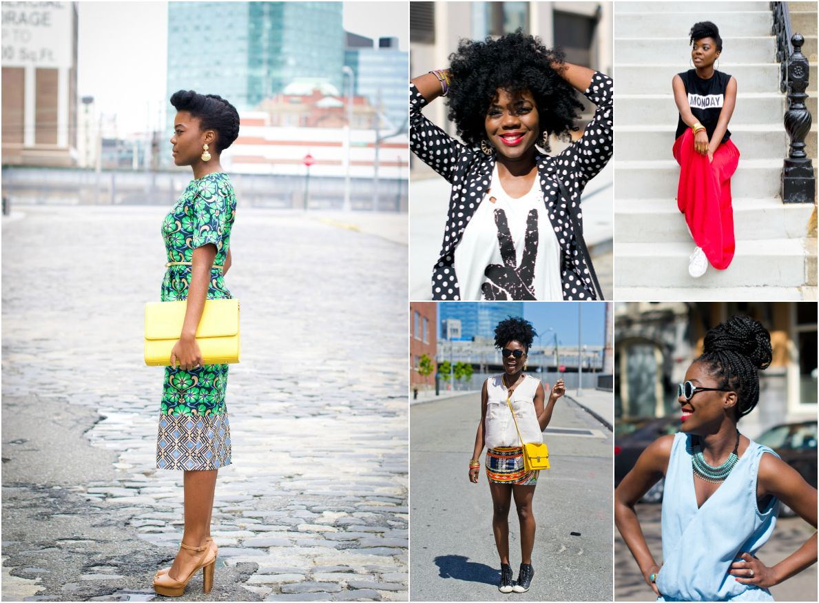 Style Inspiration Five Favorite Natural Hair Fashion Bloggers