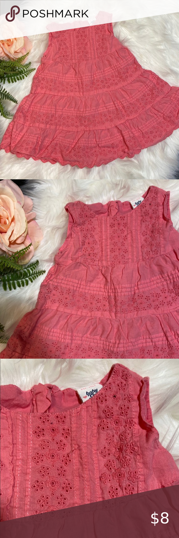Baby Gap Peach Eyelet Summer Dress Size 18 24m Summer Dresses Size 18 Dress Gap Dress [ 1740 x 580 Pixel ]