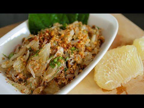 Thai pomelo salad recipe yum som o hot thai kitchen food thai pomelo salad recipe forumfinder Image collections