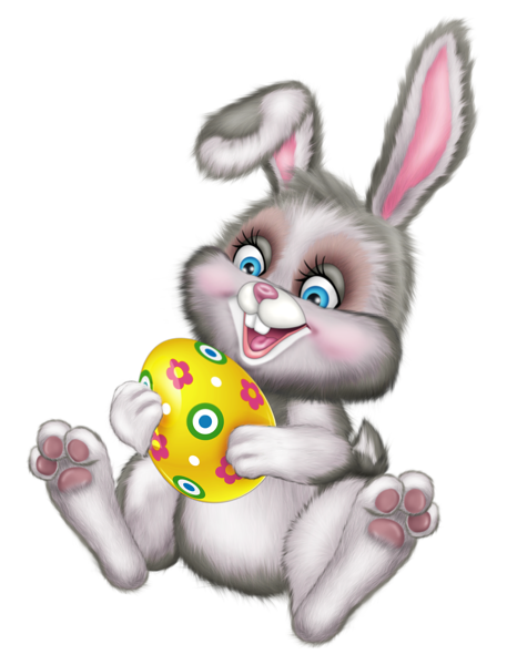 Cute Easter Bunny With Egg Png Picture Easter Bunny Cartoon Easter Cartoons Easter Images