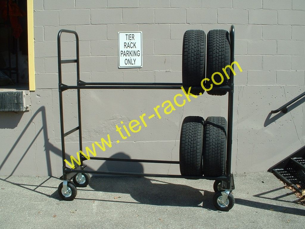 Rolling Tire Storage Rack Entrancing Newretailtirerack  Gift Ideas  Pinterest  Tire Rack Tired And