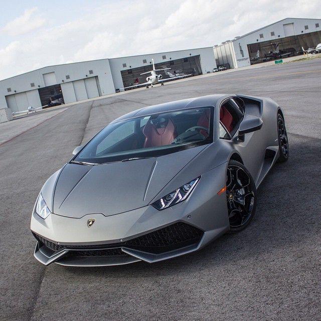 Matte Grey Huracan Follow MphClub Miamis Finest Exotic Car - Cool cars rental