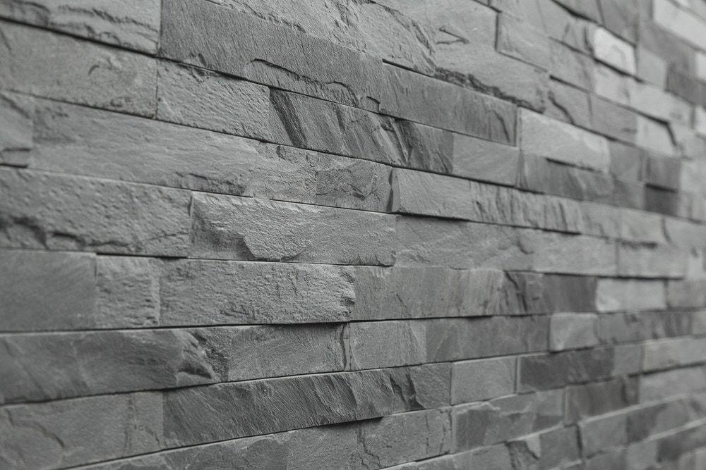 Free Samples Roterra Stone Siding Slate Collection Ledge Black Thin 4 X18
