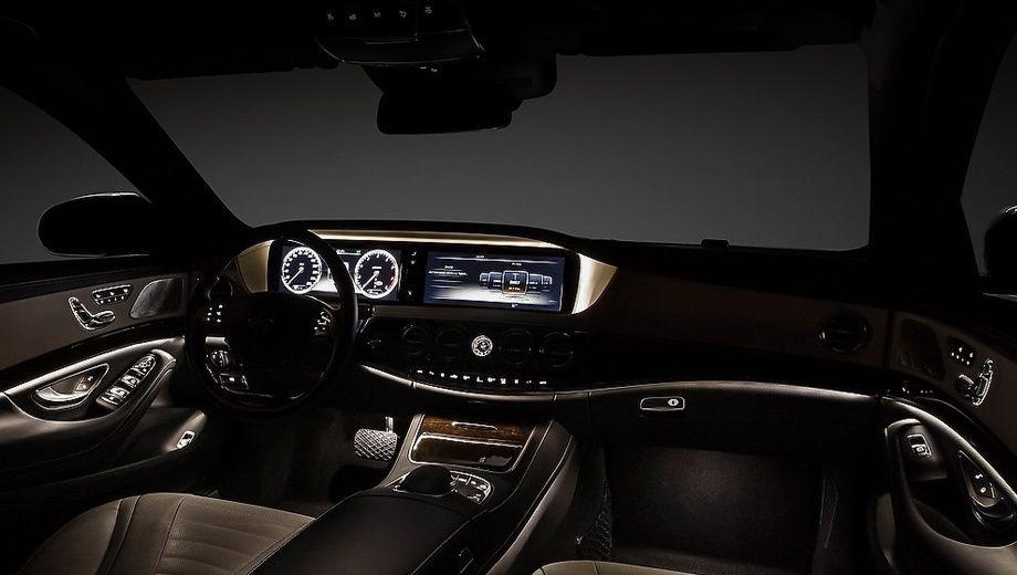 New  Mercedes S