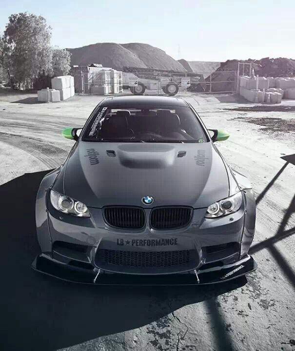 BMW E92 M3 Grey Widebody LB Performance