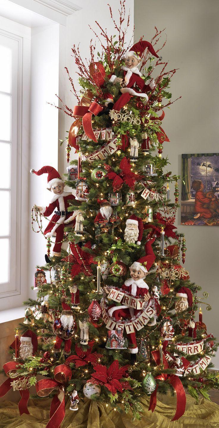 Decoracion De Arboles De Navidad 2015 2016 Navidad Primitiva Ideas Para Arboles De Navidad Y Decoracion De Navidad 2017