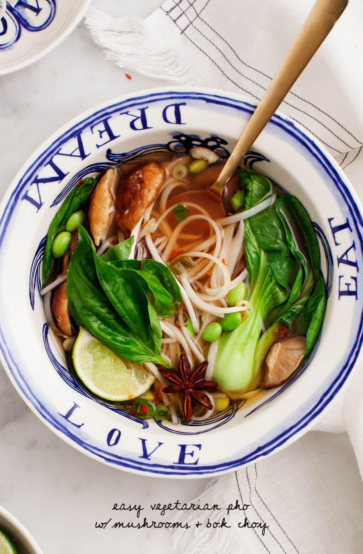 Favorite Vegetarian Soup Recipes Love And Lemons Vegetarian Pho Whole Food Recipes Easy Vegetarian