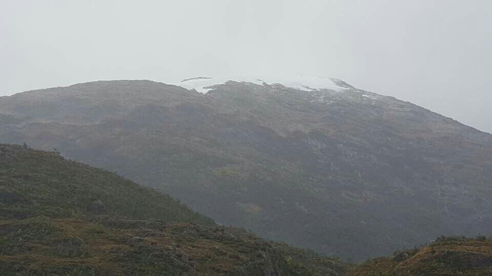 칠레남쪽파타고니아(Patagonia)토르텔(Tortel)