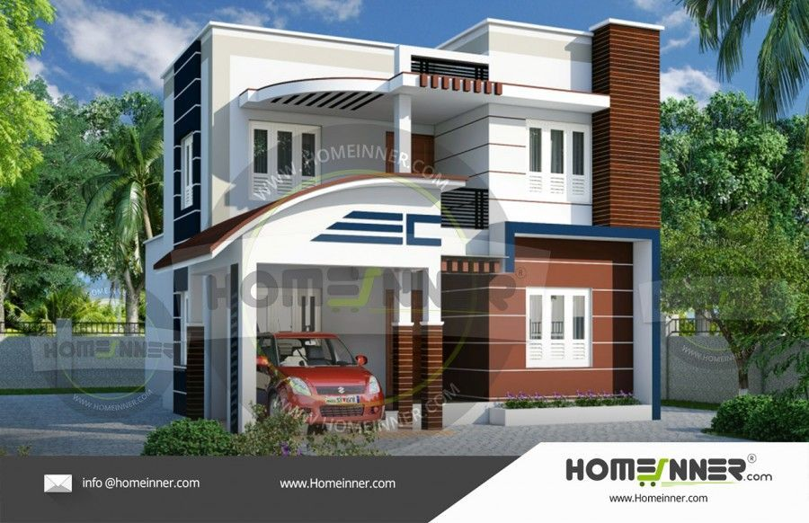2nd Floor House Design In India Kerala House Design Model House Plan Free House Plans